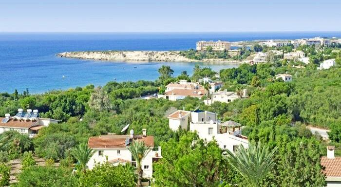 coral bay holiday cyprus villa rent paphos