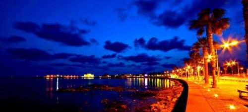 paphos seafront cyprus