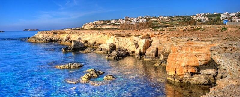 sea caves coral bay holiday cyprus rent villa