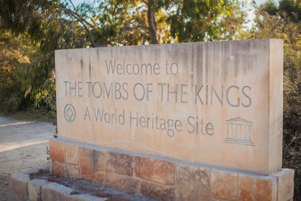 tombs of the kings paphos cyprus holiday rent